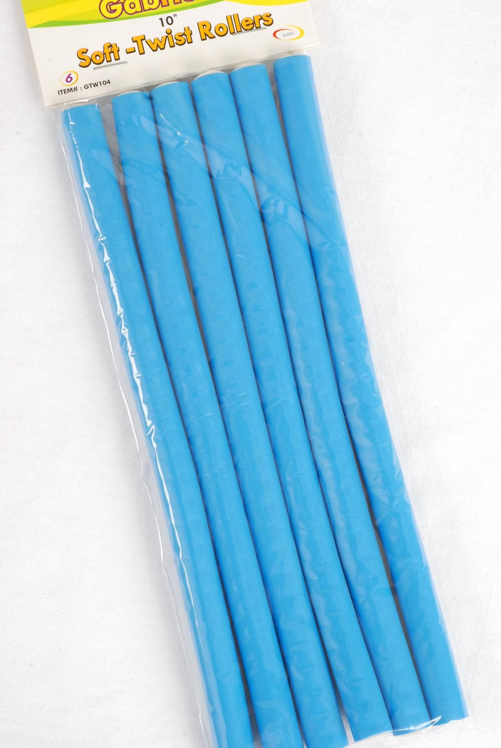 "Long Rubber Rods/DZ 10"" Long,Each Pack Have 6 pcs,12 Pack= Dozen,Choose Colors"