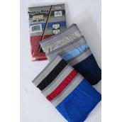Boy's Color Cotton Briefs/DZ Pre Color Asst,Choose Sizes,each Pack Has 3pcs,4 Pack=Dozen