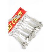 """Key Chains Wrenchs/DZ Size-3.5""""x 1.25"""" wide,W OPP Bag"""