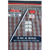 Men's Boxer Shorts Color Asst/DZ 3pcs per Pack,4Pack=Dozen,W UPC Code,Choose Sizes