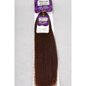 "Human hair Braiding Hair Silky 18 to 20inch Long #33/PK **#33** Silky Bulk 18"" 20"" Lonng,W Display card & OPP Bag & UPC Code -"