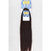 "Human hair Braiding Hair 2tone Piano Yaki 18 to 20inch Long #D1B/33 Mix/PK **D1B/33 Mix** Yaki Bulk 2tone Piano 18"" to 20"" Long,W Display card & OPP Bag & UPC Code -"