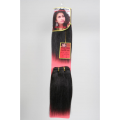 Human Hair 9in 2pcs Yaki  Weave Hair/ PK F means Piano tone;T means Top To Bottom ,Choose Hair                                                                                      - 100pcs/cs
