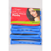 "Cold Wave Rods 144pcs 4/16'' **Blue** Size-4/16"",each bag has 12pcs,12 bag=Pack"