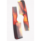 """Dual Comb Tortoise/DZ Size-8""""x 1.75"""" Wide,Individual Pack & UPC Code"""
