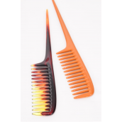 "Long Tail Combs/DZ Size-1.5""x 9.5"" Wide, Individual Pack & UPC Code,Choose Colors"