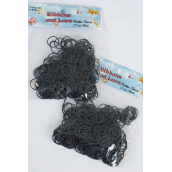 Rubber Bands Black 275 pcs Count/DZ Each Pack Have 275 pcs Rubber bands,12 Pack= Dozen,Individual Pack,UPC Code