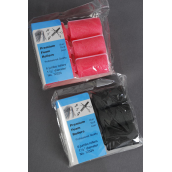 "Form Rollars 6ct Jumbo/DZ Size-1 1/2"" Dia Wide,Choose Black Or Hot Pink Colors -"