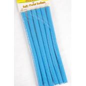 """Long Rubber Rods Blue 6 pcs/pk 12pk/DZ/DZ **Blue** 9/16'',10"""" Long,Each Pack have 6 pcs,12 pack= Dozen"""