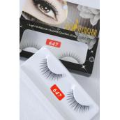 Eyelashes Style #647/DZ **Style #647** With UPC Code,12card=Dozen