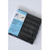 "Magnetic Snap On Rollers 12ct Medium Black/DZ **Black** Medium Size-3/4"" Dia Wide12ct per Pack,12Pack=Dozen"