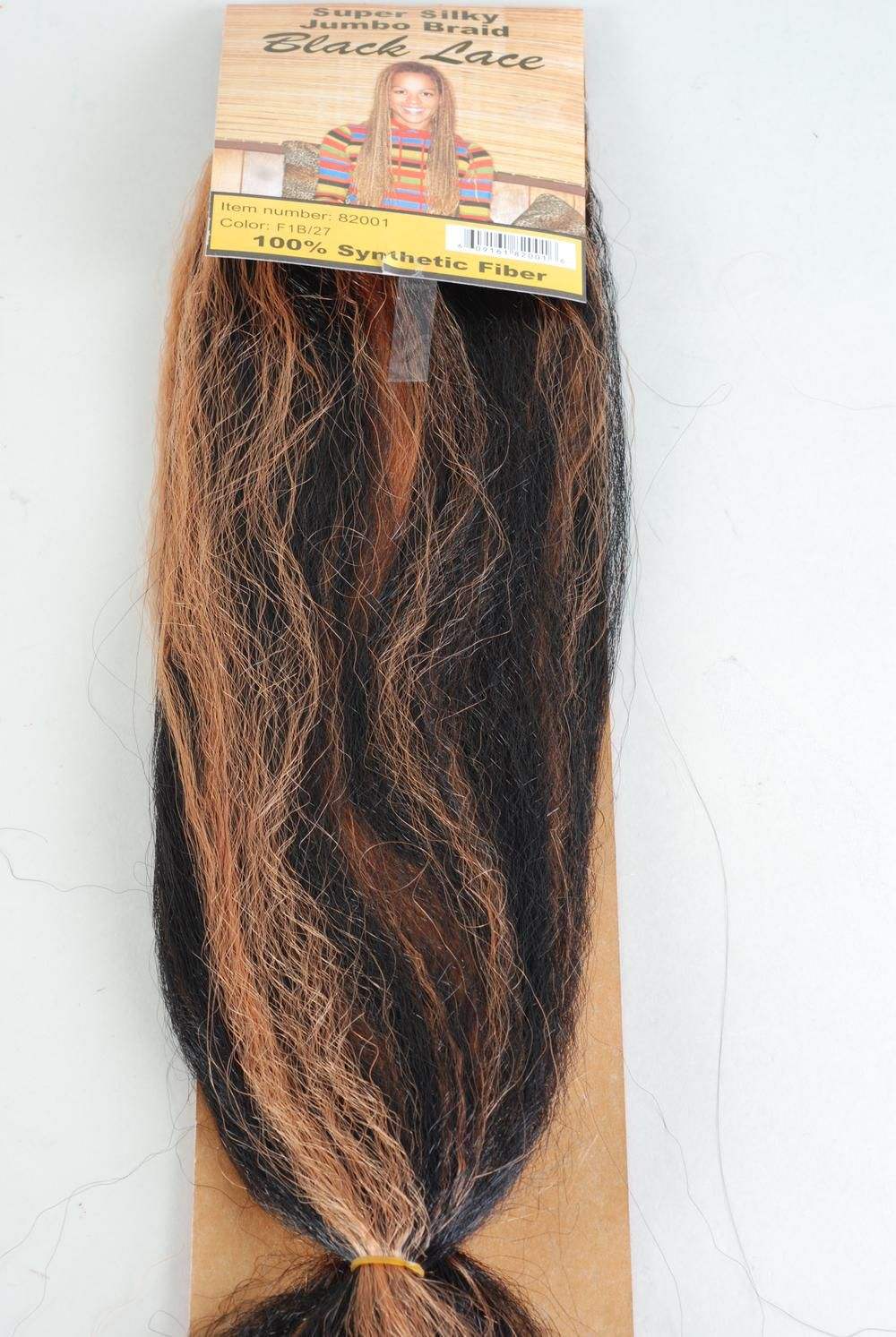 Hair Jumbo Braid /PC Choose Hair Colors,each Pack have Display card & OPP bag & UPC Code