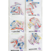 "Hair Snapclip for Toddler 96pcs Tiedye Color Asst 1''/DZ 1"",Tiedye Color Asst"