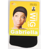 Wig Stocking Cap Black 24 pcs/Dz 2 pcs Per Card,12 Card Per DZ,each pack has Opp bag & UPC Code
