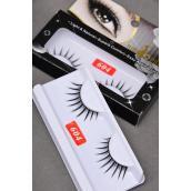Eyelashes Style #604/DZ **Style #604** with UPC code,12card=Dozen