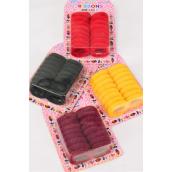 Ponytail Holder Doughnuts 12 Card/DZ **Twister Elastic** 16 pcs per Card,each Card Have UPC Code,12 Card=Dozen