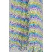 "Magic Scarf Pastel/DZ **Pastel** Size-13""x 64"" Wide,Display Card & OPP Bag & UPC Code"