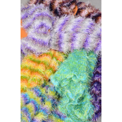 """Magic Scarf Citrus/DZ **Multi** Size-13""""x 64"""" Wide, 2 of each Color Asst,Display Card & OPP Bag & UPC Code"""