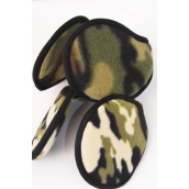 "Ear Muff Fleece for Kids Camo Flexible/DZ **Ca-mo** For Kid,Size-4"",Flexible,6 of each Color Asst,Hang Tag & UPC Code"