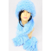 """Multifunction Magic Scarf 3 pcs Sets Soft Stretchy Blue/Sets **Blue** Stretch,Scarf Size-13""""x 64"""" Wide, Display Card & OPP Bag & UPC Code - None"""