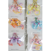 "Snapclips Animals/DZ Size-2""x1"" Wide,4 Pink,2 Yellow,2 Orange,2 Blue,2 Lavender,5 Color Mix,each caed has 2pcs,12card=Dozen,Display Card & OPP bag"