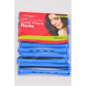 """Cold Wave Rods 144pcs 4/16'' **Blue** Size-4/16"""",each bag has 12pcs,12 bag=Pack"""