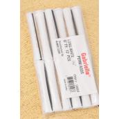 "Cold Wave Rods 144pcs White/PK **White** Size-7/16"" each bag have 12 pcs,12 bag= Pack"