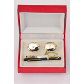 Tie Clip + Cuff Link Sets F Style/Sets **Department Quaility** F Style