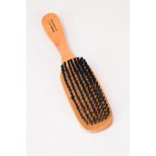 "Wooden Brush Hard Oblong Handle 9"" x 2.25"" Wide/DZ **Hard** Size-9""x 2.25"" Wide, OPP Bag & UPC Code                                                                                                   - '"