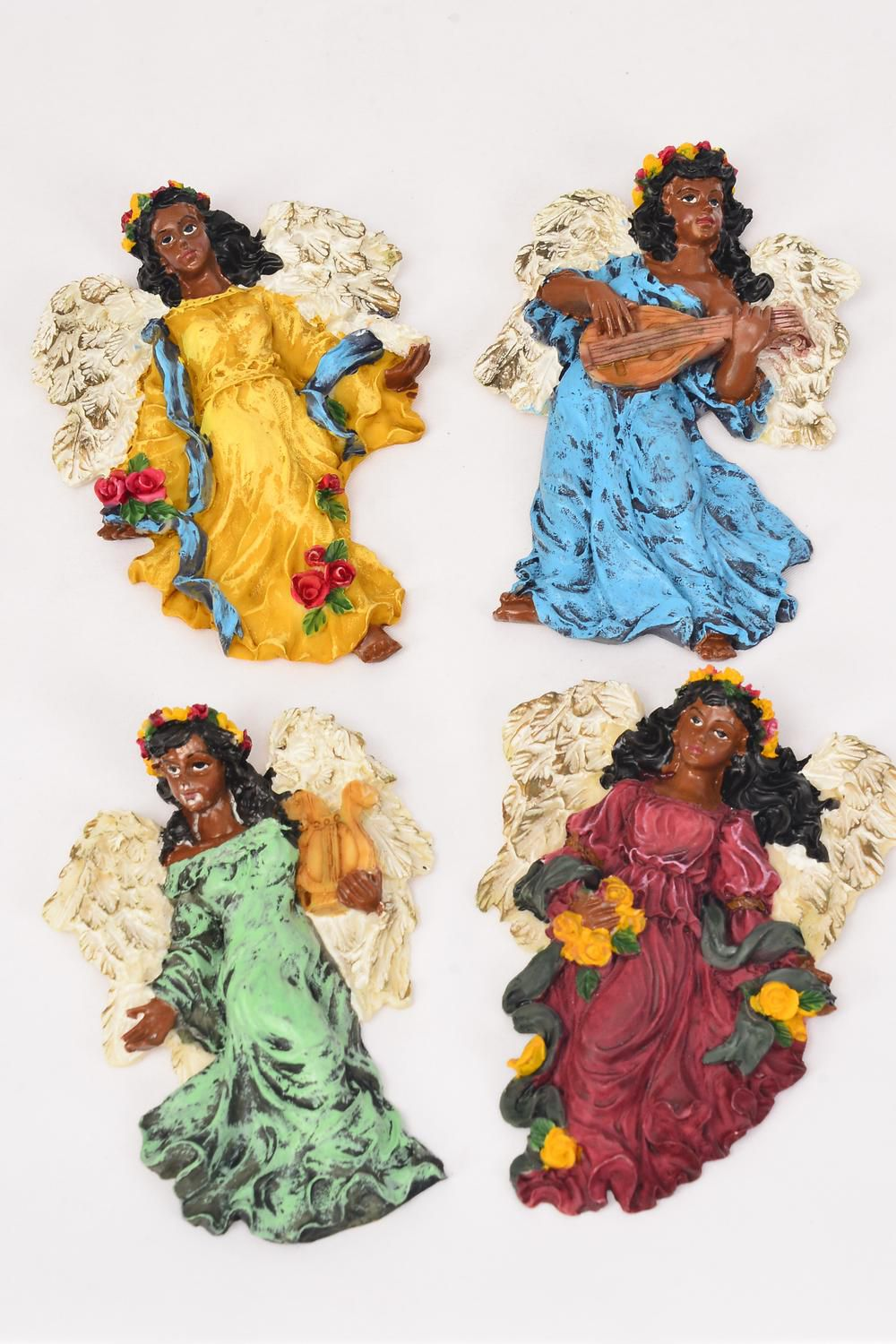 "Figurine Angel Magnets/DZ Size-2.75""x 4""x 0.75"" Wide, Disply Box,Select Styles ,Choose from Below"