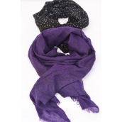"Scarf Polyester Puff Dots/DZ **Puff Dots** Size-71""x 28"" Wide,Individual OPP Bag & UPC Code,Choose Colors"