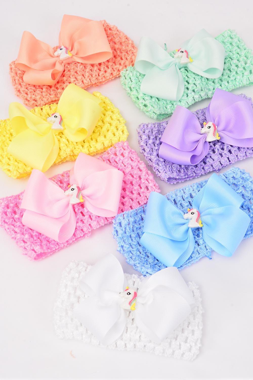 7b59e7d0d696a Ballerina Headband Grosgrain Bowtie Unicorn Pastel/DZ **Pastel ...