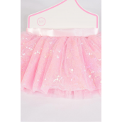 Tutu Dress Sequin Baby Pink/PC **Baby Pink** Size-0-12month,Display Card & UPC Code