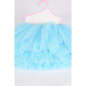 Tutu Dress Blue/PC **Blue** Size-0-12 month,Display Card & UPC Code