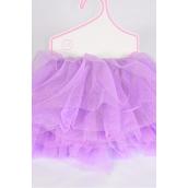 Tutu Dress Lavender/PC **Lavender** Size-0-12 month,Display Card & UPC Code
