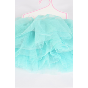 Tutu Dress Mint Green/PC **Mint Green** Size-0-24 month,Display Card & UPC Code
