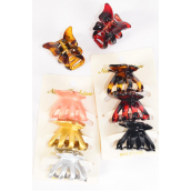 Jaw Claw Melon Claw 4 cm 36 pcs Color Asst Inner Pack of 3/DZ Size-4 cm,6 of each Color Asst,Individual Display Card & Opp Bag & UPC Code
