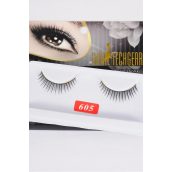 Eyelashes Style #605/DZ **Style #605** Individual Display Box UPC Code,12 Card=Dozen