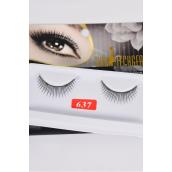 Eyelashes Style #637/DZ **Style #637** Individual Display Box UPC Code,12 Card=Dozen