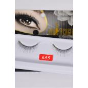 Eyelashes Style #655/DZ **Style #655** Individual Display Box UPC Code,12 Card=Dozen