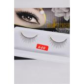 Eyelashes Style #640/DZ **Style #640** Individual Display Box UPC Code,12 Card=Dozen