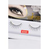 Eyelashes Style #616/DZ **Style #616** Individual Display Box UPC Code,12 Card=Dozen