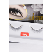Eyelashes Style #601/DZ **Style #601** Individual Display Box UPC Code,12 Card=Dozen