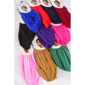 Turban Color Asst/DZ **Multi** 2 Red,2 Purple,1 of each Color Asst,Wrinkle Free, Super Comfort,Hang Tag & UPC Code