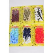 Barrettes Bow-ties/DZ Choose Colors,each Card has UPC Code,12 Card=Dozen
