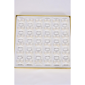 Earrings White Pearl 10 mm 3 Dozen/Dy **Post** Size-10 mm,36 pair Display Box